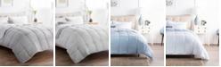Brookside Striped Reversible Chambray Comforter Set