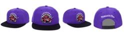Mitchell & Ness Toronto Raptors 2 Tone Classic Snapback Cap