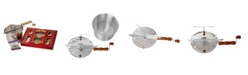 Wabash Valley Farms Stainless Steel Whirley-Pop with Mini Popcorn Marquee