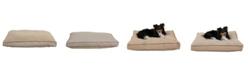 Carolina Pet Company Orthopedic Four Season Jamison with Cashmere Berber Top Collection