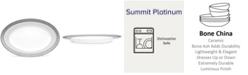 """Noritake Summit Platinum Butter/Relish Tray, 8.5"""""""