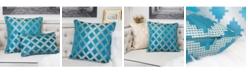 Homey Cozy Ellie Satin Jacquard Throw Pillow