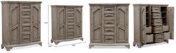 Furniture Bristol  Bedroom Chest with Doors