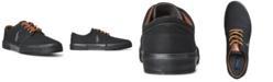 Polo Ralph Lauren Men's Canvas Faxon Low-Top Sneakers
