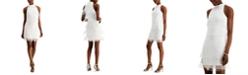 Adrianna Papell Beaded Fringe Dress