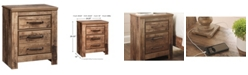 Signature Design By Ashley Blaneville Two Drawer Nightstand