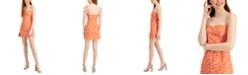 French Connection Etta Kiss-Print Sleeveless Dress