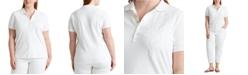 Lauren Ralph Lauren Plus Size Stretch Cotton Polo