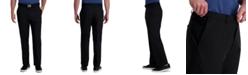 Haggar Cool Right Performance Flex Classic Fit Flat Front Pant