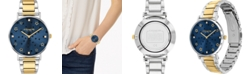 COACH Women's Perry Two-Tone Stainless Steel Bracelet Watch 36mm