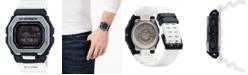 G-Shock Men's Connected Digital G-Lide White Resin Strap Watch 46mm