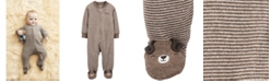 Carter's Baby Boys 1-Pc. Striped Dog Cotton Coverall