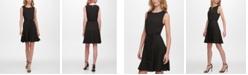 Tommy Hilfiger Belted A-Line Dress