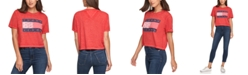 Tommy Jeans Cropped Flag T-Shirt