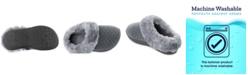 Isotoner Signature Women's Velour Sabrine Hoodback Slippers
