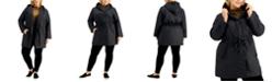 Eileen Fisher Plus Size Hooded Coat