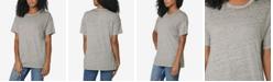 Ultra Flirt Juniors' Oversized Crew-Neck T-Shirt