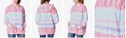 Ultra Flirt Juniors' Tie-Dye Graphic Hoodie