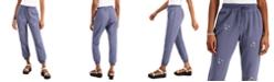 Indigo Rein Juniors' Cotton Daisy-Embroidered Sweatpants