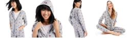 Style & Co Heart-Print Hoodie, Created for Macy's