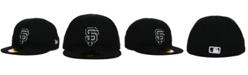 New Era Kids' San Francisco Giants Black and White 59FIFTY Cap