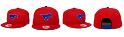 New Era Southern Methodist Mustangs Core 9FIFTY Snapback Cap