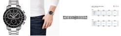 Tissot Men's Swiss Chronograph V8 Stainless Steel Bracelet Watch 42mm T1064171105100