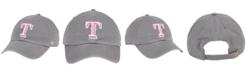 '47 Brand Texas Rangers Dark Gray Pink CLEAN UP Cap