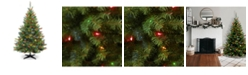 National Tree Company National Tree 6' Kincaid Spruce Tree with 400 Multicolor Lights