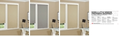"""US Shade & Shutter Cordless Linen Look Thermal Fabric Roller Shade, 23""""x66"""""""