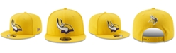 New Era Minnesota Vikings Logo Elements Collection 9FIFTY Snapback Cap