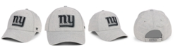 '47 Brand New York Giants Heathered Black White MVP Adjustable Cap