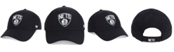 '47 Brand Brooklyn Nets Black White MVP Cap