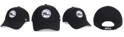 '47 Brand Philadelphia 76ers Black White MVP Cap