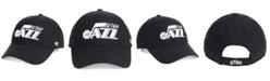 '47 Brand Utah Jazz Black White MVP Cap