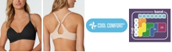 Hanes Ultimate T-Shirt 2-ply Wireless Bra with Cool Comfort DHHU26, Online only