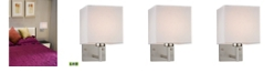ELK Lighting Davis Collection 1 light WALL sconce in Brushed Nickel