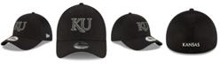 New Era Kansas Jayhawks Black White Neo 39THIRTY Cap