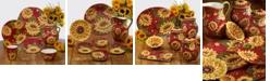 Certified International Sunset Sunflower Dinnerware Collection