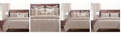 Siscovers Burlap Natural Farmhouse 5 Piece Twin Luxury Duvet Set