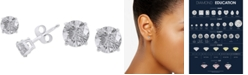 EFFY Collection EFFY® Diamond Stud Earrings (1 ct. t.w.) in 18k White Gold