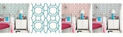 "Brewster Home Fashions Summer Trellis Wallpaper - 396"" x 20.5"" x 0.025"""