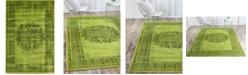 Bridgeport Home Linport Lin5 Sage Green 4' x 6' Area Rug