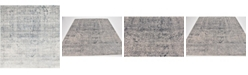 Bridgeport Home Odette Ode1 Gray 7' x 7' Square Area Rug