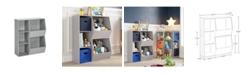 RiverRidge Home RiverRidge Kids 3-Cubby, 2-Veggie Bin Floor Cabinet