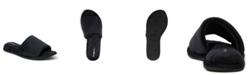 Dearfoams Women's Microfiber Slide Slippers, Online Only