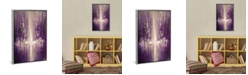 """iCanvas Purple Rain by Osnat Tzadok Gallery-Wrapped Canvas Print - 40"""" x 26"""" x 0.75"""""""