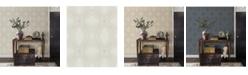 "A-Street Prints 21"" x 396"" Relativity Geometric Wallpaper"