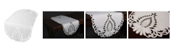 """Xia Home Fashions Wilshire Embroidered Cutwork Table Runner, 16"""" x 54"""""""
