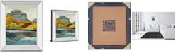 "Classy Art Eagle Peak by Mark Chandon Mirror Framed Print Wall Art, 22"" x 26"""